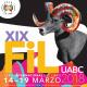 Logotipo de FIL UABC 2018